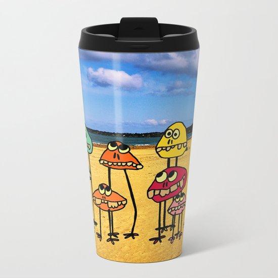 - family sea - Metal Travel Mug