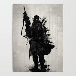 Post Apocalyptic Warrior Poster