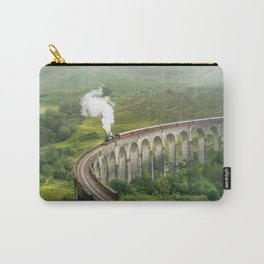 Hogwart Express steam engine in the scottish highlands Carry-All Pouch
