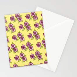 Jessica Pale Yellow Stationery Cards
