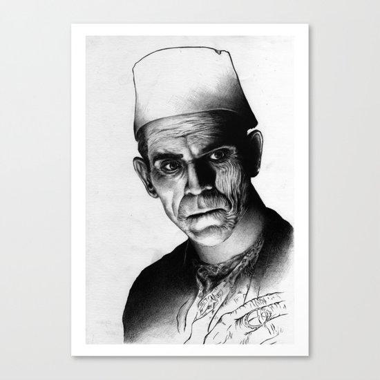 Karloff Canvas Print
