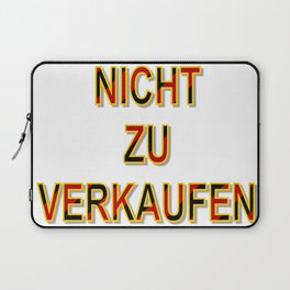 NOT FOR SALE E Laptop Sleeve