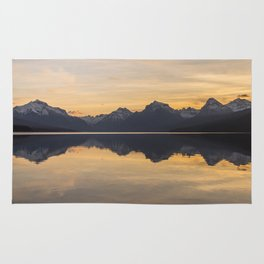 Lake McDonald (Glacier National Park) Rug