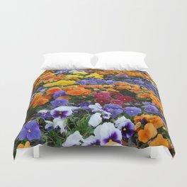 Pancy Flower 2 Duvet Cover