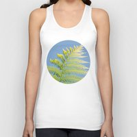fern Tank Tops featuring Fern by Pati Designs