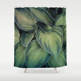 Ornamental Foliage Shower Curtain