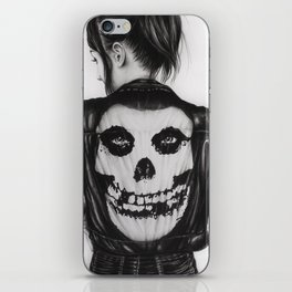 The Crimson Ghost iPhone Skin