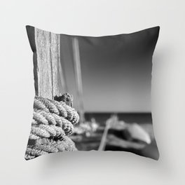 The sea between us Throw Pillow