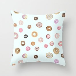 DONUT LOVE Throw Pillow