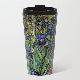 Irises - Van Gogh Travel Mug
