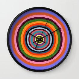Technicolor dream 002 Wall Clock