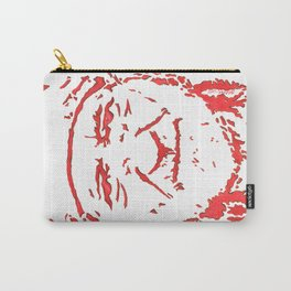 Willie Nelson in Red- New, Improved! Carry-All Pouch