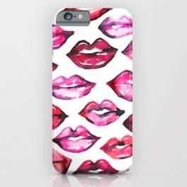 Pretty Lips iPhone Case