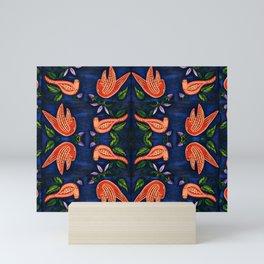 Palomas Noche Symmetrical Art2 Mini Art Print