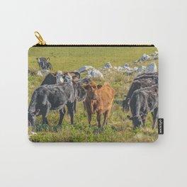 Cows at Countryside, Maldonado, Uruguay Carry-All Pouch