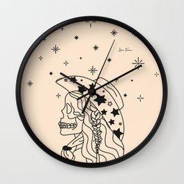 Love or Die Tryin' - Rhinestone Cowgirl Black & Cream Wall Clock