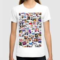 1d T-shirts featuring POLAROID ONE DIRECTION 1D by BESTIPHONE5CASESHOP
