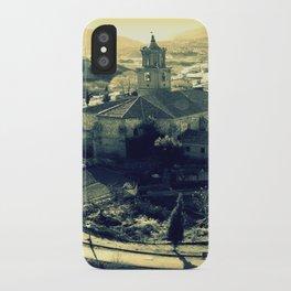 Panorama of Arnedillo iPhone Case