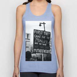 women's march philly Unisex Tank Top