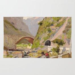 Vintage poster - Fernet-Branca Rug