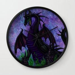 Dragon Maleficent Wall Clock