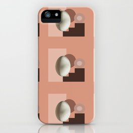 Ab ovo pattern iPhone Case
