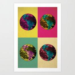 Planet Color Art Print