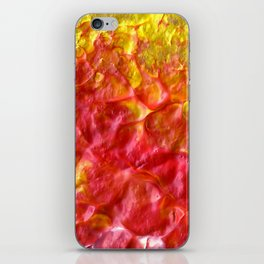 Fire Spiral iPhone Skin