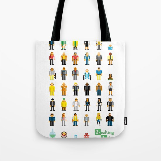 Breaking Bit Tote Bag