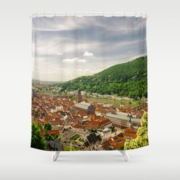Heidelberg from Above Shower Curtain