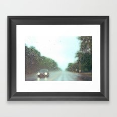 accidental photo Framed Art Print