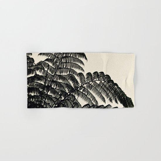 Palm Fan Hand & Bath Towel
