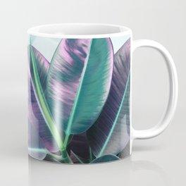 Violet Tropical Plant Coffee Mug