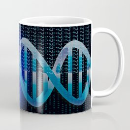 DNA ID Blue Coffee Mug