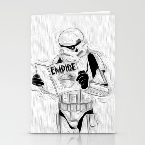 trooper empire Stationery Cards