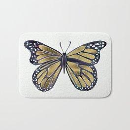 Gold Butterfly Bath Mat
