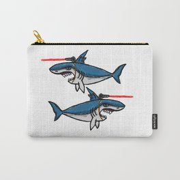 Sharks With Friggin' Laser Beams Attached to Their Heads Carry-All Pouch