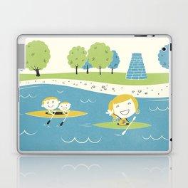 Row Row Row Laptop & iPad Skin