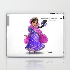 Princess Malala Yousafzai (Trumble Cartoon) Laptop & iPad Skin