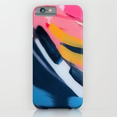 Even After All  #1 - Abstract on perspex by Jen Sievers iPhone 6s Slim Case