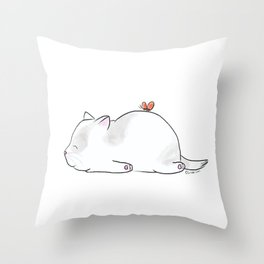 I'm tired, Butterfly. Throw Pillow