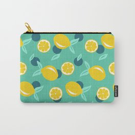Lemon dots #society6 #decor #buyart Carry-All Pouch