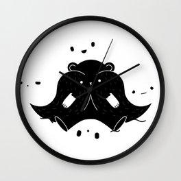 IMMIGRANT BEARS Wall Clock