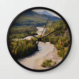 MatRiverValley Wall Clock