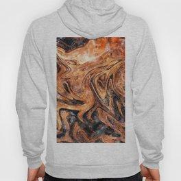 Brown marble watercolor Hoody