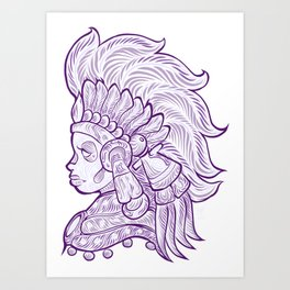Mictecacihuatl - Lady of the Dead Art Print