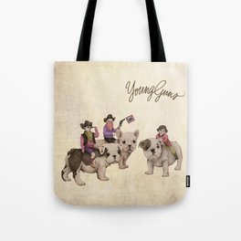 Young Guns Tote Bag