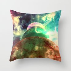 Meanwhile, Somewhere in The Universe... Throw Pillow