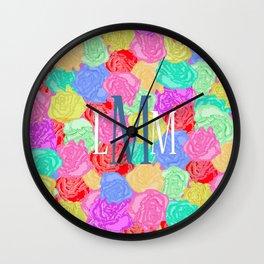 Lilli Monogram Wall Clock