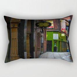 An alleyway in Leeds (UK) Rectangular Pillow